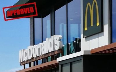 Warwick help McDonald's gain planning permission
