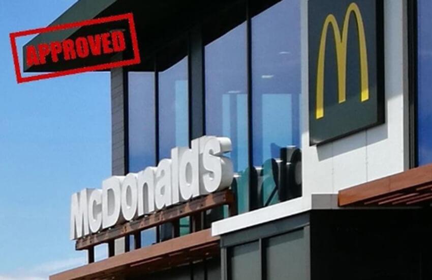 Warwick help McDonald's gain planning permission