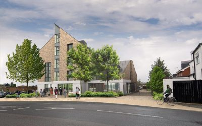 133-unit Co-Living scheme at Gladstone Road, Exeter